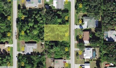 Port Charlotte Residential Lots & Land For Sale: 4347 Concert Street