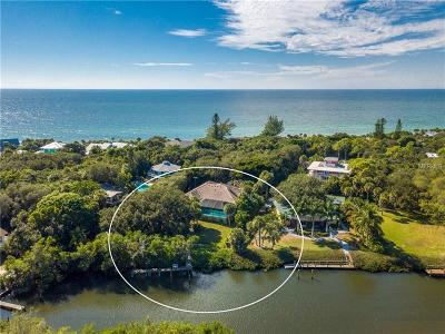 Englewood Single Family Home For Sale: 7225 Manasota Key Road