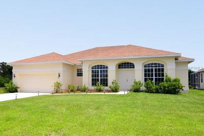 Rotonda, Rotonda West, Rotonda Lakes Single Family Home For Sale: 66 Tee View Road