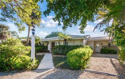 Boca Grande, Englewood Single Family Home For Sale: 325 Harbor Drive