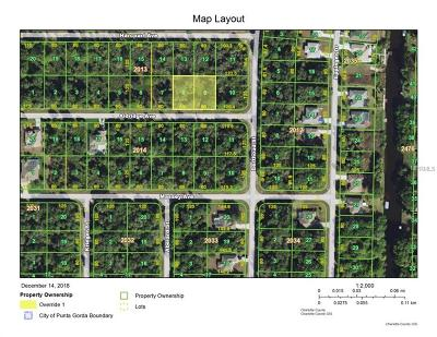 Port Charlotte Residential Lots & Land For Sale: 14356 Aldridge Avenue