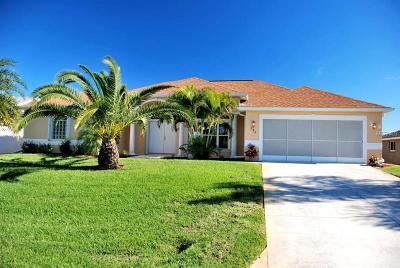 Rotonda, Rotonda West, Rotonda Lakes Single Family Home For Sale: 284 Rotonda Circle