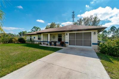 North Port Single Family Home For Sale: 7071 Beckwith Avenue