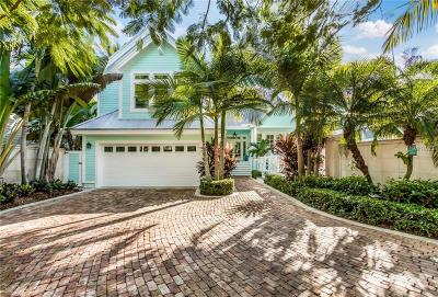 Boca Grande FL Single Family Home For Sale: $3,875,000