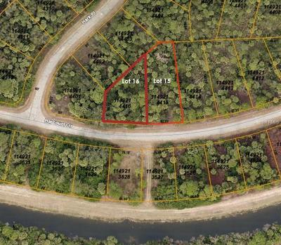 Residential Lots & Land For Sale: Lot 15 Block 2144 Harcourt Circle