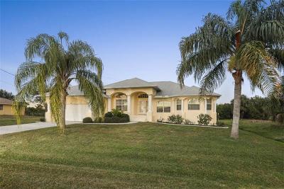 Rotonda West Single Family Home For Sale: 246 Tournament Road