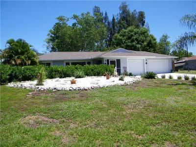 Venice Single Family Home For Sale: 5143 Lemon Bay Drive