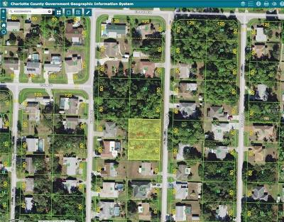 Port Charlotte Residential Lots & Land For Sale: 1341 Arrow Street