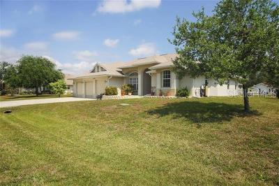 Port Charlotte Single Family Home For Sale: 10600 Ayear Road