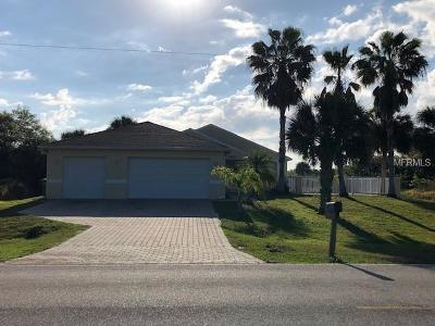 Port Charlotte Single Family Home For Sale: 13393 Eisenhower Drive