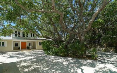Single Family Home For Sale: 7760 Manasota Key Road