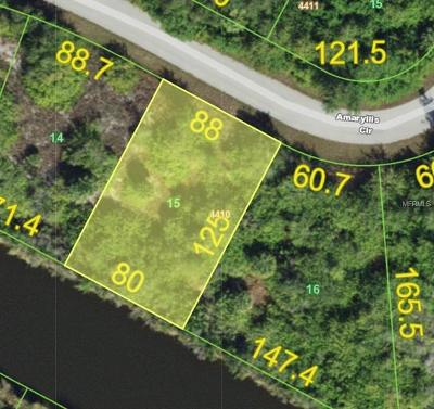 Port Charlotte Residential Lots & Land For Sale: 13340 Amaryllis Circle