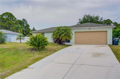 North Port Single Family Home For Sale: 3180 Alesio Avenue