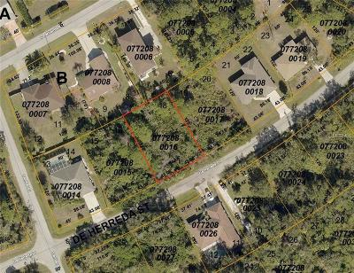 Residential Lots & Land For Sale: De Herreda (Lot 17 & 18) Drive
