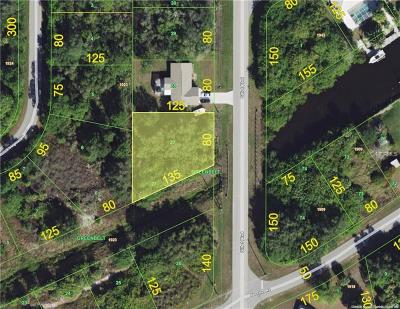 Port Charlotte Sec 052, Port Charlotte Sec 053, Port Charlotte Sec 054, Port Charlotte Sec 056, Port Charlotte Sec 060, Port Charlotte Sec 063, Port Charlotte Sec 095 Residential Lots & Land For Sale: 4159 Gillot Boulevard