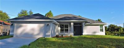 Port Charlotte Single Family Home For Sale: 15240 Hennipen Circle