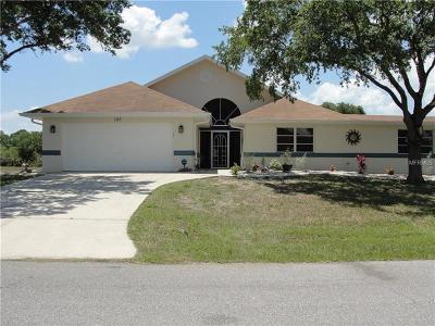 Rotonda, Rotonda West, Rotonda Lakes Single Family Home For Sale: 165 Hercules Drive