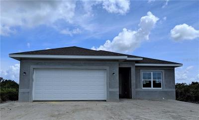 Rotonda West Single Family Home For Sale: 448 Albatross Road