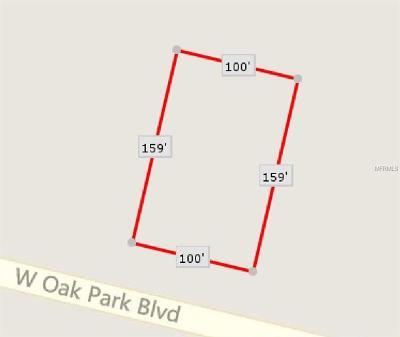 Homosassa Residential Lots & Land For Sale: 5221 W Oak Park Boulevard