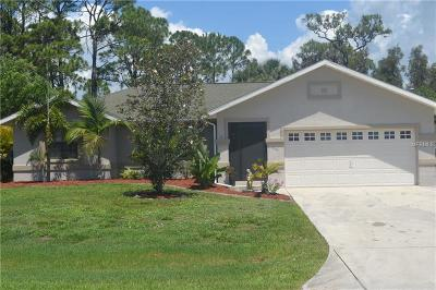 Port Charlotte Single Family Home For Sale: 5029 Duprell Terrace
