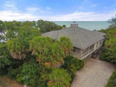 Single Family Home For Sale: 7200 Manasota Key Road