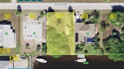 Port Charlotte Residential Lots & Land For Sale: 18226 Eau Gallie Circle