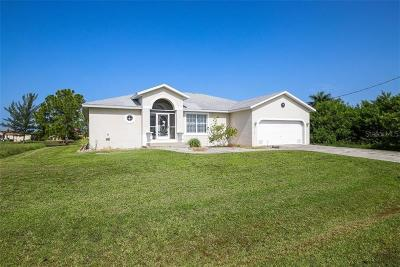 Port Charlotte Single Family Home For Sale: 8116 Burwell Circle