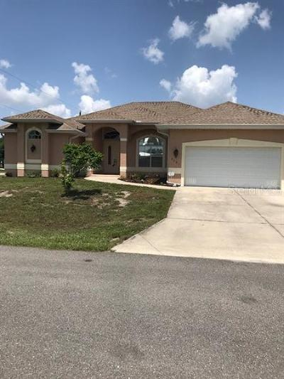Port Charlotte Single Family Home For Sale: 9685 Arnaz Circle