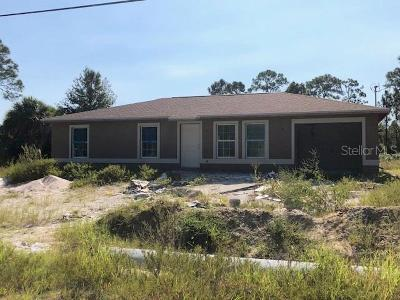 North Port Single Family Home For Sale: 3878 Everglades Terrace