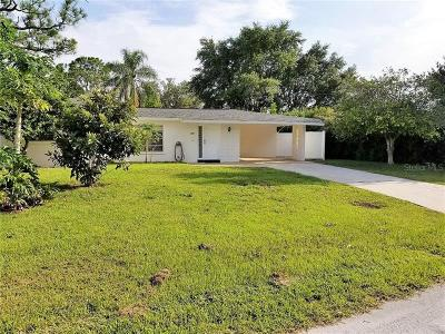 North Port Single Family Home For Sale: 308 Granada Boulevard