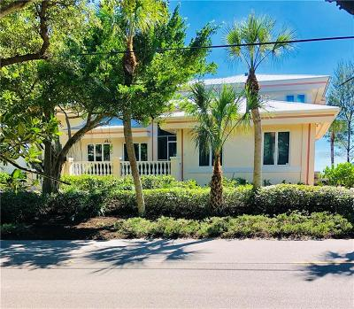 Manasota Key Single Family Home For Sale: 7110 Manasota Key Road