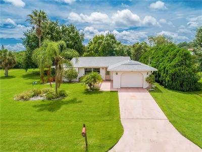 Charlotte County Single Family Home For Sale: 5190 Latham Terrace