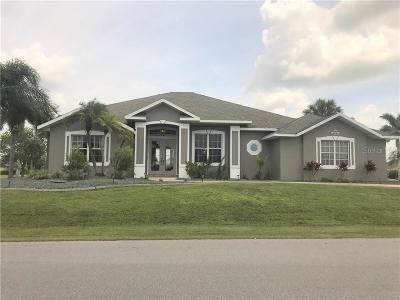 Port Charlotte Single Family Home For Sale: 9348 Spring Circle