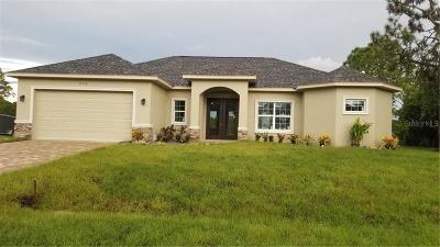 Venice FL Single Family Home For Sale: $299,500