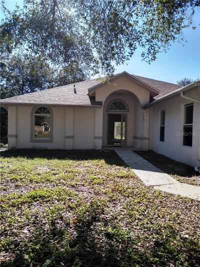 Palm Bay Single Family Home For Sale: 374 Vin Rose Circle SE