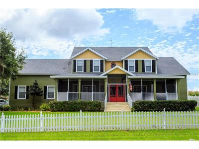 Eustis Single Family Home For Sale: 1901 Lakeshore Drive