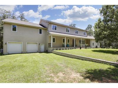 Dade City Single Family Home For Sale: 17844 Lecil Lane