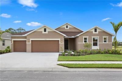 Fort Myers Single Family Home For Sale: 17336 Coastal Ridge Way