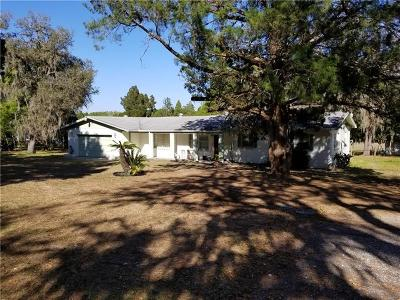 Dade City Single Family Home For Sale: 12506 Smith Road