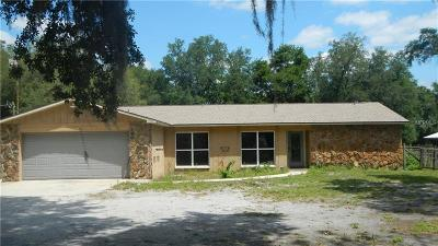 Zephyrhills Single Family Home For Sale: 40741 Jerry Road