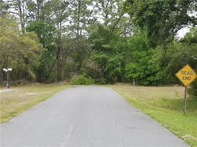 Hernando County, Hillsborough County, Pasco County, Pinellas County Residential Lots & Land For Sale: 1471 Diane Street