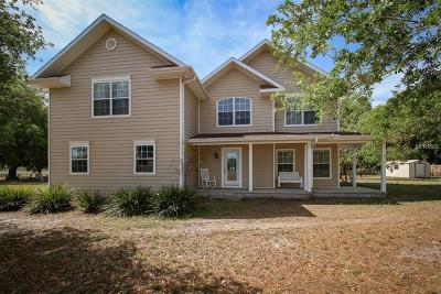 Zephyrhills Single Family Home For Sale: 35555 Old Geiger Road