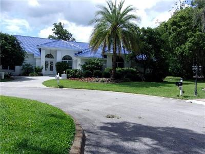 Wesley Chapel Single Family Home For Sale: 5443 Blue Heron Lane