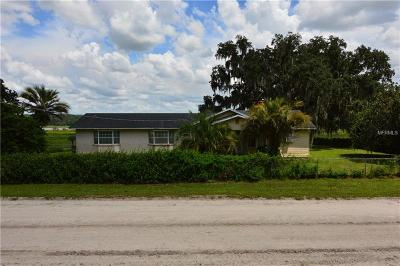 Pasco County, Hernando County Single Family Home For Sale: 10834 Wirt Road