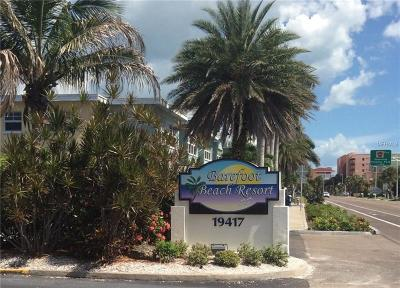 Indian Shores Condo For Sale: 19417 Gulf Boulevard W #A-109