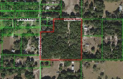 Dade City FL Residential Lots & Land For Sale: $85,000