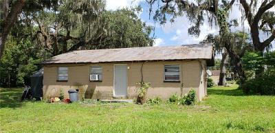 Dade City Single Family Home For Sale: 14552 10th Street