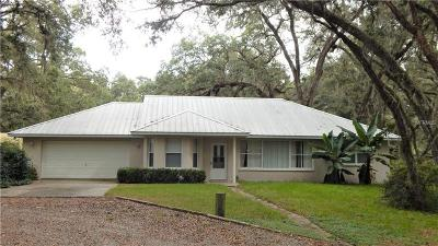 Brooksville Single Family Home For Sale: 21401 Ayers Road