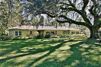 Dade City Single Family Home For Sale: 13238 Curley Road