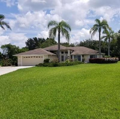 Dade City Single Family Home For Sale: 9938 Wallaston Drive